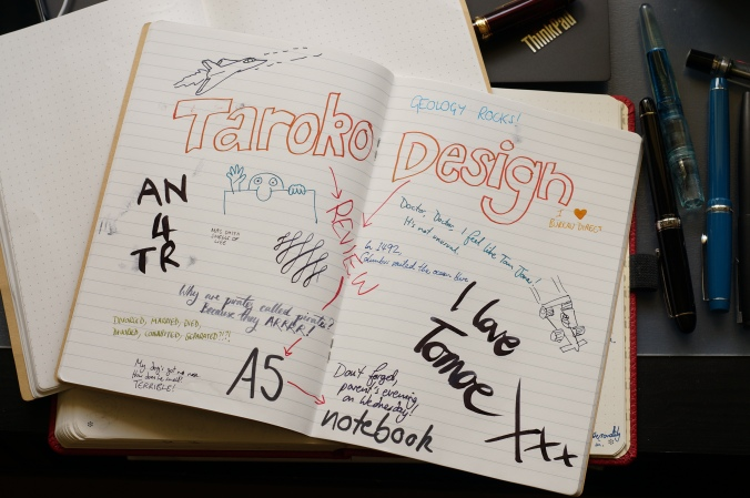 review back to school with the taroko design a5 notebook uk